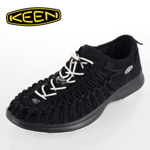キーン KEEN メンズ サンダル UNEEK O2 ユニーク オーツー 1017849 BLACK-WHITE オープンエアースニーカー
