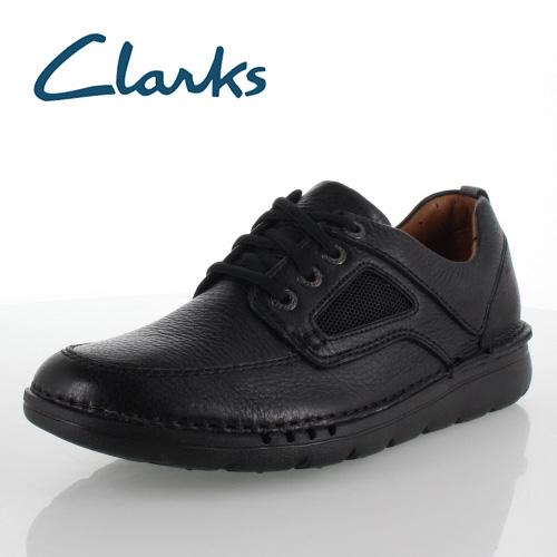 【エントリーでP5倍 4/9 20:00-4/16 1:59】 クラークス メンズ Clarks Unnature Time 830E アンネイチャータイム ブラック カジュアルシューズ 正規品 セール