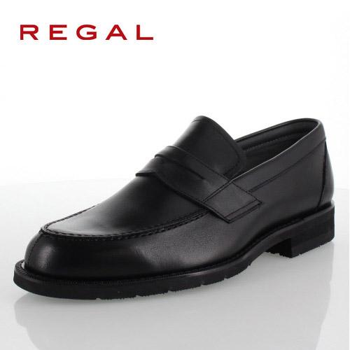 リーガル REGAL 靴 メンズ ローファー ビジネスシューズ 30NRBB ブラック 紳士靴 日本製 3E 本革 防水 特典B