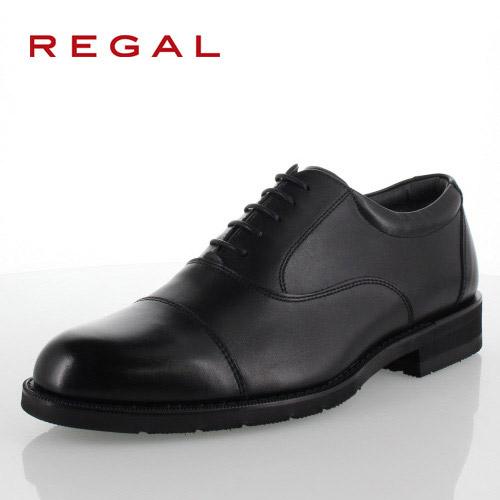リーガル REGAL 靴 メンズ ビジネスシューズ 32NRBB ブラック ストレートチップ 内羽根式 紳士靴 日本製 3E 本革 防水 特典B