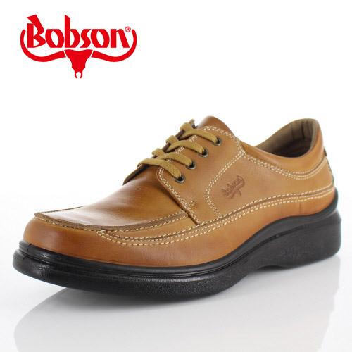 ボブソン BOBSON B5207 キャメル メンズ ウォーキングシューズ ビジネスカジュアル 本革 4E
