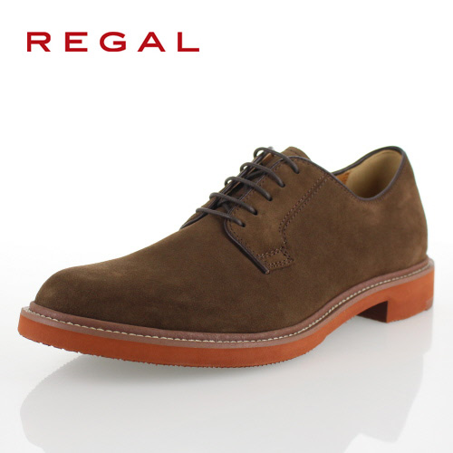 リーガル 靴 メンズ REGAL 51MRAH ダークブラウンスエード カジュアルシューズ プレーントゥ スウェード スエード 2E 特典B