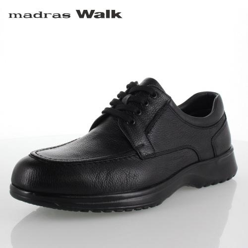 madras Walk マドラスウォーク MW8008 ブラック ゴアテックス メンズ ビジネスシューズ カジュアルシューズ Uチップ 防水 革靴 4E