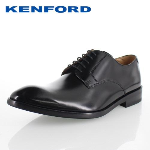 【エントリーでP5倍 4/9 20:00-4/16 1:59】 ケンフォード KENFORD KN51 ACJ ブラック メンズ ビジネスシューズ プレーントゥ 3E 紳士靴 本革