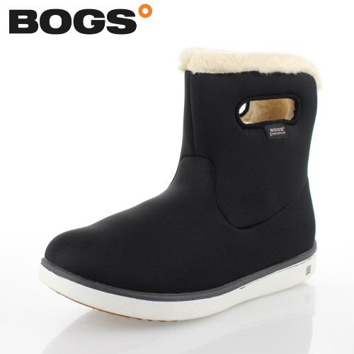 ボグス BOGS 78409 ブラック レディース ブーツ ショート 防水 ウォータープルーフ ボア 保温