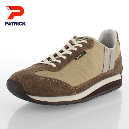パトリック ミリタリー マラソン PATRICK 529753 MILITARY-M CML キャメル レディース メンズ スニーカー 日本製
