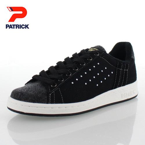 パトリック ケベック コーデュラ ウール PATRICK 529761 QUEBEC-C W BLK ブラック レディース メンズ スニーカー 日本製