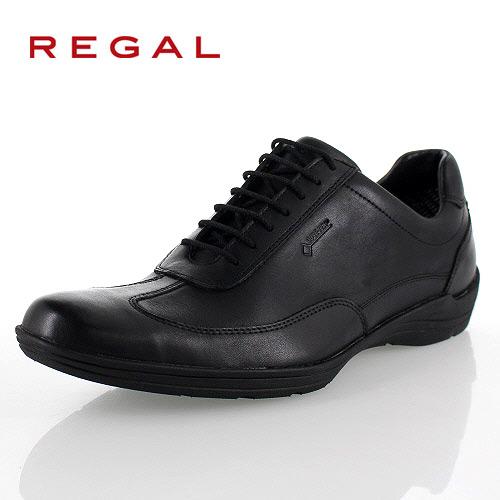 リーガル 靴 メンズ REGAL 53NRBJ ブラック スニーカー コンフォートシューズ ゴアテックス 防水 2E 本革 紳士靴 特典B