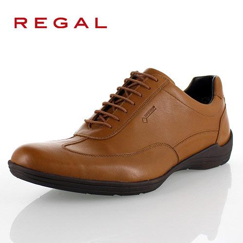 リーガル 靴 メンズ REGAL 53NRBJ ブラウン スニーカー コンフォートシューズ ゴアテックス 防水 2E 本革 紳士靴