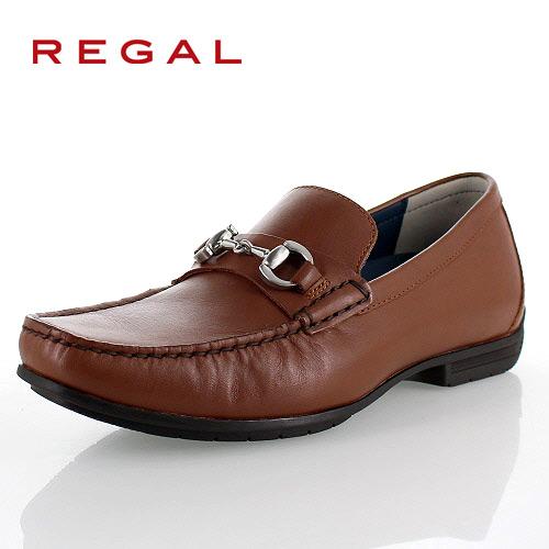 リーガル 靴 メンズ REGAL 57HRAF ブラウン カジュアルシューズ ビットローファー 2E 本革 紳士靴 特典B