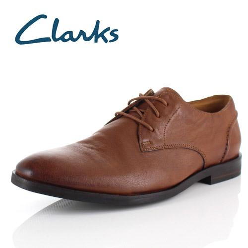 【エントリーでP5倍 4/9 20:00-4/16 1:59】 クラークス メンズ ビジネスシューズ Clarks Glide Lace グライドレース 031J ブラウン Tan プレーントゥ 外羽根 本革 靴 セール