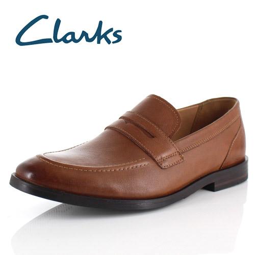 【エントリーでP5倍 4/9 20:00-4/16 1:59】 クラークス メンズ ローファー Clarks Glide Free グライドフリー 032J ブラウン Tan ビジネスシューズ 靴