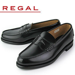 リーガル REGAL 靴 メンズ ローファー 2177NEB ブラック 紳士靴 2E 本革 特典B
