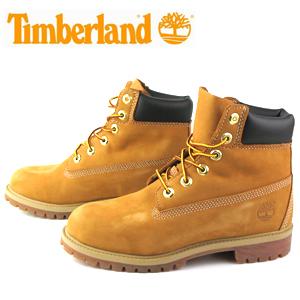 """【エントリーでP5倍 4/9 20:00-4/16 1:59】 ティンバーランド ジュニア 6インチブーツ Timberland 12909 JUNIOR'S 6"""" BOOTS ブーツ"""