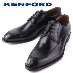 ケンフォード KENFORD KB47 AJ 甲革に撥水加工処理 ブラック ビジネスシューズ Uチップ 売買 出色 革靴 メンズ 3E リーガルコーポレーション