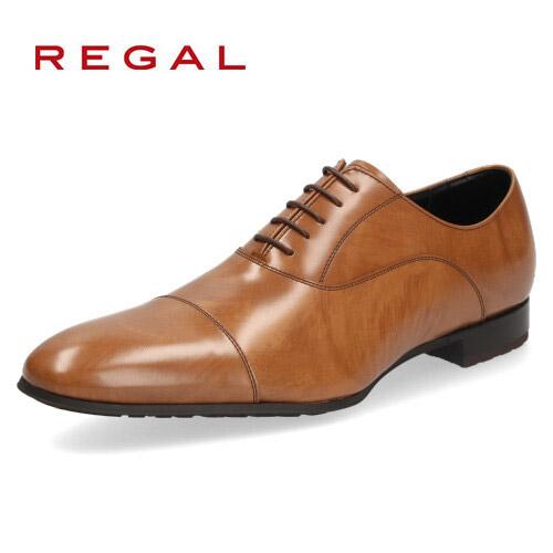 リーガル REGAL 靴 メンズ ビジネスシューズ 011R AL ブラウン ストレートチップ 内羽根式 紳士靴 日本製 2E 本革