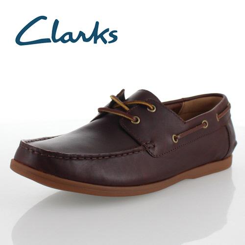 クラークス メンズ Clarks Morven Sail 913E モーベンセール ブリティッシュ タンレザー ブラウン デッキシューズ 紳士靴 靴 正規品 セール