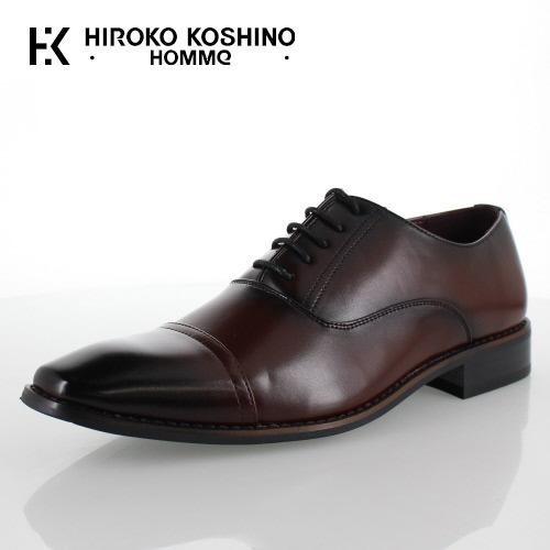 ヒロコ コシノ オム HIROKO KOSHINO HOMME HK9801 ワイン メンズ 靴 ビジネスシューズ ストレートチップ 内羽式 3E