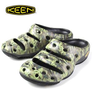 人気のリラックスクロッグ 人気急上昇 KEEN メンズ サンダル YOGUI ARTS 買い物 1002034 Green ヨギ アーツ Camo