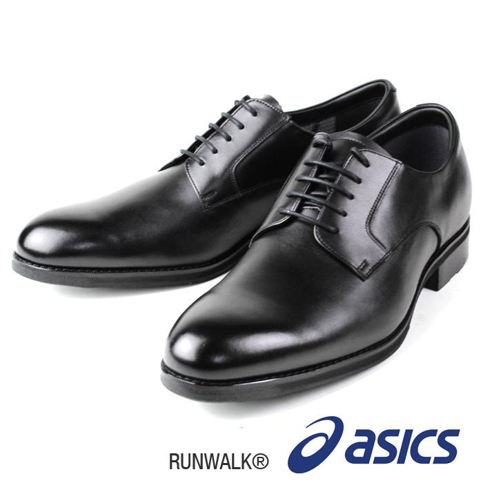 asics RUNWALK WR611L ブラック 3E メンズ ビジネス シューズ