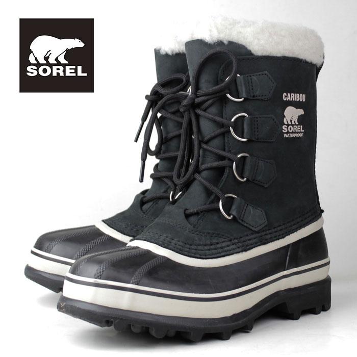 SOREL Caribou NL1005 011 BlackStone ソレル カリブー レディース ブーツ 防水設計