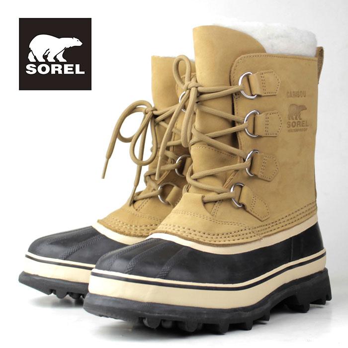 SOREL Caribou NL1005 280 Buff ソレル カリブー レディース ブーツ 防水設計