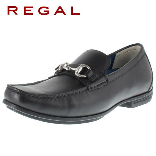 【エントリーでP5倍 4/9 20:00-4/16 1:59】 リーガル REGAL 靴 メンズ ローファー ビット カジュアルシューズ 57HR AF ブラック 紳士靴 本革 特典B