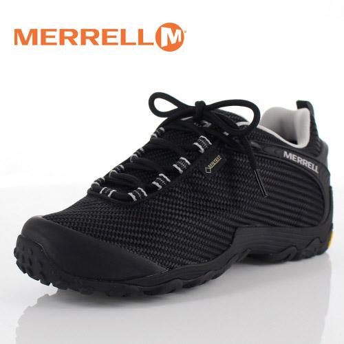 【エントリーでP5倍 4/9 20:00-4/16 1:59】 メレル カメレオン7 ストーム ゴアテックス J36475 BLACK/BLACK MERRELL CHAMELEON7 STORM GORE-TEX メンズ トレッキングシューズ 靴 ブラック