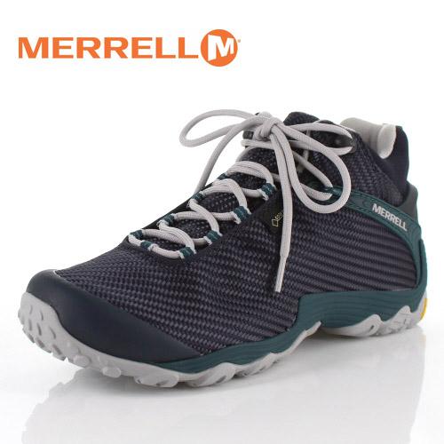 メレル カメレオン7 ストーム ミッド ゴアテックス J38561 NAVY/TEAL MERRELL CHAMELEON7 STORM MID GORE-TEX メンズ トレッキングシューズ 靴 ネイビー