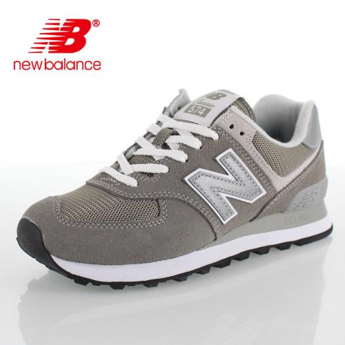 ニューバランス メンズ スニーカー new balance ML574 EGG GRAY ワイズ D メッシュ 靴 グレー セール