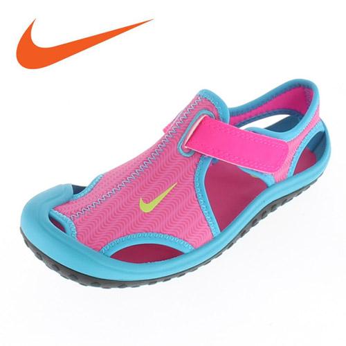 Nike NIKE SUNRAY PROTECT Nike Sunray protect 344992-612 kids junior Sandals  P5-44992 pink