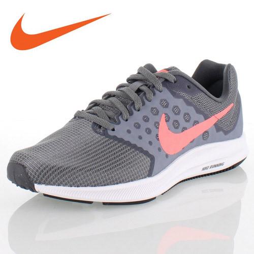 NIKE Nike WMNS NIKE DOWNSHIFTER 7 women downshifter 7 682,466-001 Lady's  running sneakers lightweight gray