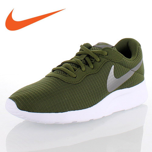 Nike WMNS NIKE TANJUN SE Ui men tongue Jun 844,908-302 Lady's sneakers green