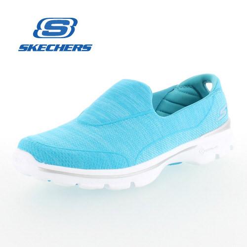 Skechers shape ups SKECHERS GOWALK 3 - SUPER SOCK 3 14046 / TURQ TURQUOISE  sneakers walking shoes,