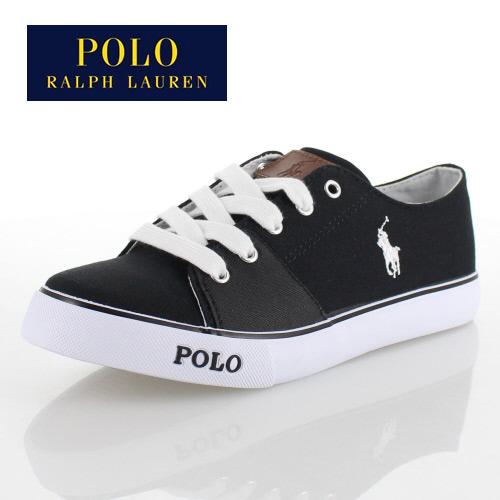 ポロ ラルフローレン ジュニア スニーカー RFS10155 BLACK POLO RALPH LAUREN CANTOR 2 カントール カジュアル 靴 子供靴 キッズ ブラック 黒