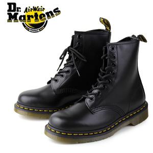 【エントリーでP5倍 4/9 20:00-4/16 1:59】 ドクターマーチン Dr.Martens 1460 8EYE BOOT BLACK SMOOTH 10072004 8ホール レディース メンズ