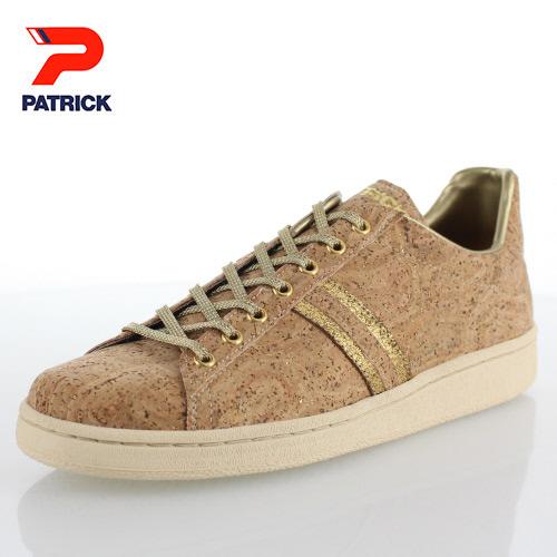 パトリック マコルク PATRICK 530075 MACORK GLD ゴールド 靴 メンズ レディース スニーカー コルク 日本製