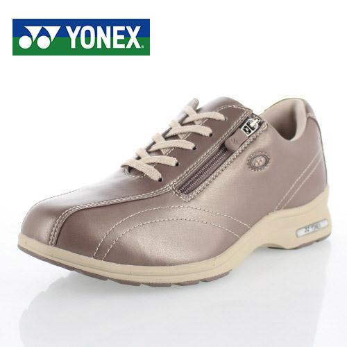 ヨネックス パワークッション レディース ウォーキングシューズ YONEX SHW-LC30W PEARL ROSE スニーカー カジュアル パール 軽量 女性用 靴 幅広 4.5E