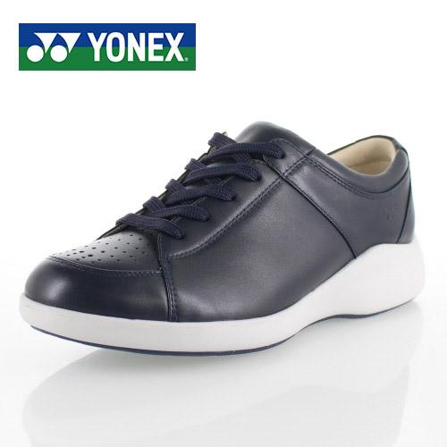 【エントリーでP5倍 4/9 20:00-4/16 1:59】 ヨネックス パワークッション メンズ ウォーキングシューズ YONEX SHW-MC87 NAVY BLUE スニーカー カジュアル 軽量 ネイビー 男性用 靴 3.5E