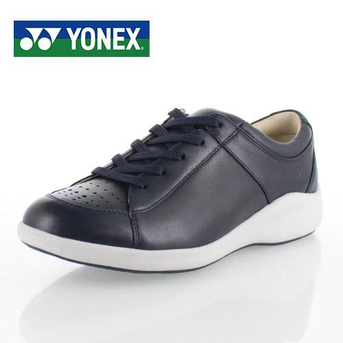 ヨネックス パワークッション レディース ウォーキングシューズ YONEX SHW-LC87 NAVY BLUE スニーカー カジュアル ネイビー 軽量 女性用 靴 3.5E
