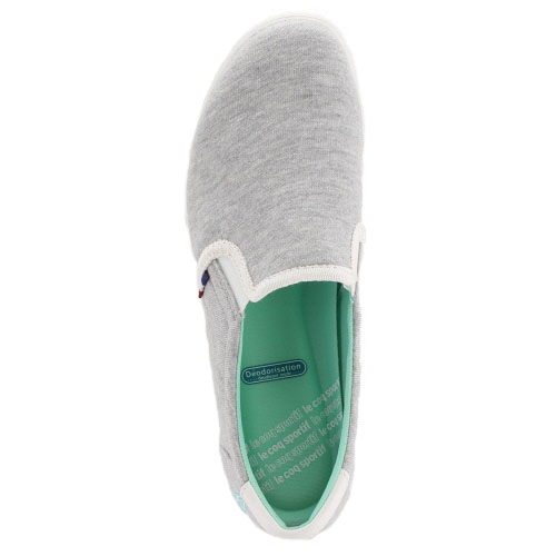 ★20%OFF!★lle coq sportif rukokkusuporutifu鞋TELUNA SLIP ON terunasurippon QFM-6307GW運動鞋懶漢鞋灰色女士