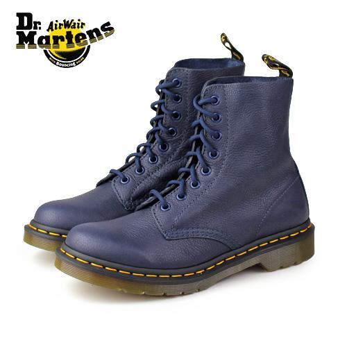ドクターマーチン Dr.Martens 13512410 パスカル PASCAL 13512 VIRGINIA 8ホール DRESS BLUES ブーツ レディース