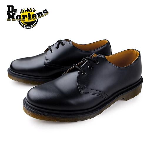 ドクターマーチン 3ホール Dr.Martens 靴 10078001 シューズ CORE 1461 PW レザー 黒 ブラック レディース メンズ ユニセックス プレーントゥ