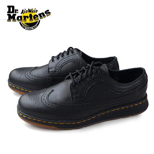 【エントリーでP5倍 4/9 20:00-4/16 1:59】 ドクターマーチン Dr.Martens 靴 22187001 シューズ DMs LITE GABE 本革 レザー黒 ブラック レディース メンズ ユニセックス ウイングチップ セール