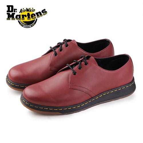 ドクターマーチン Dr.Martens 靴 21859600 シューズ CAVENDISH 21859 CHERRY RED 3ホール airwair softwair レザー 赤 レッド レディース メンズ ユニセックス プレーントゥ セール