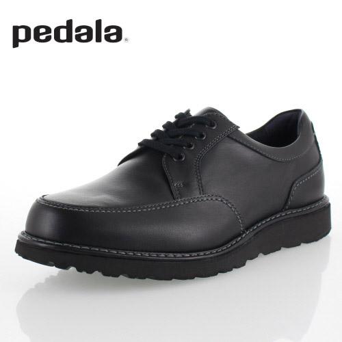 【エントリーでP5倍 4/9 20:00-4/16 1:59】 ペダラ PEDALA アシックス メンズ WP801T-90 ウォーキングシューズ 3E 本革 靴 ブラック