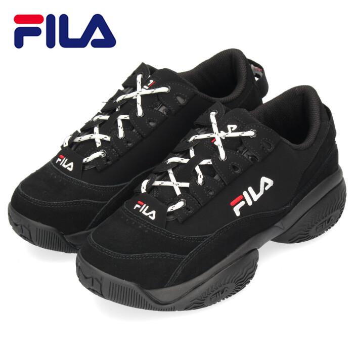 FILA フィラ メンズ スニーカー プロヴィナンス F0400 0013 ブラック PROVENANCE ダッドスニーカー ダッドシューズ 厚底