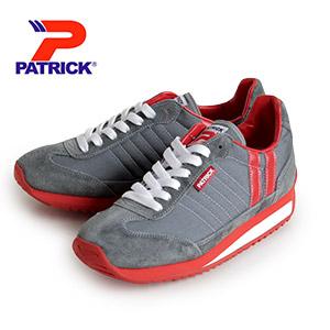 PATRICK MARATHON_GRY パトリック マラソン 9624 メンズ レディース スニーカーグレイ 日本製