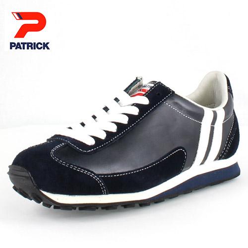 【エントリーでP5倍 4/9 20:00-4/16 1:59】 PATRICK 【送料無料】 パトリック BOSTON-L 2 NVY ボストン・レザー 2 NVY 528262 NV-28262 メンズ レディース スニーカー ネイビー 日本製