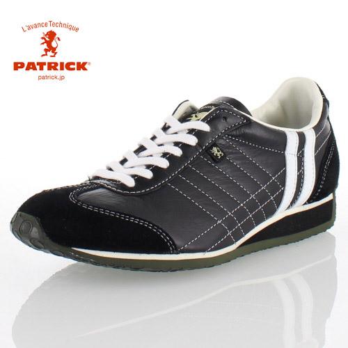 PATRICK パトリック IRIS CROW アイリス クロウ 23851 メンズ レディース スニーカー 日本製 ブラック